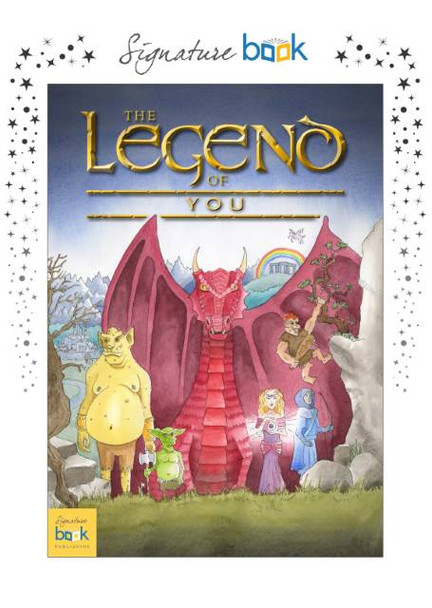 Legend of Your Name Personalized Book