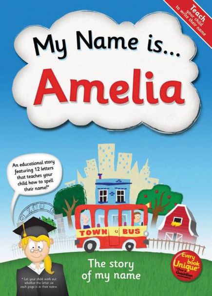 My Name is… Personalized Book