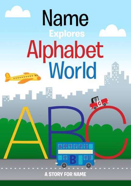 Your Child In Alphabet World Personalized Book