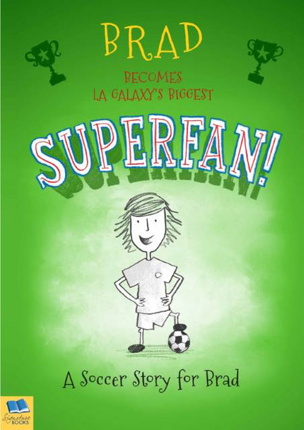 Personalized Soccer Superfan Book