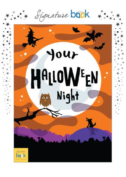 On Halloween Night Personalized Book