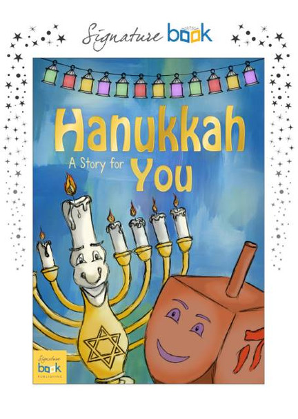 Personalized Hanukkah Story Book