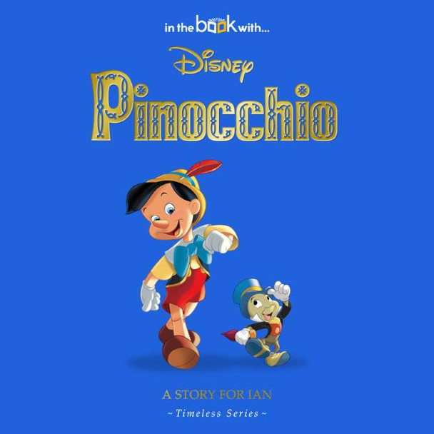Personalized Disney Pinocchio Story Book