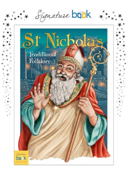 Personalized St Nicholas Traditional Folklore Book