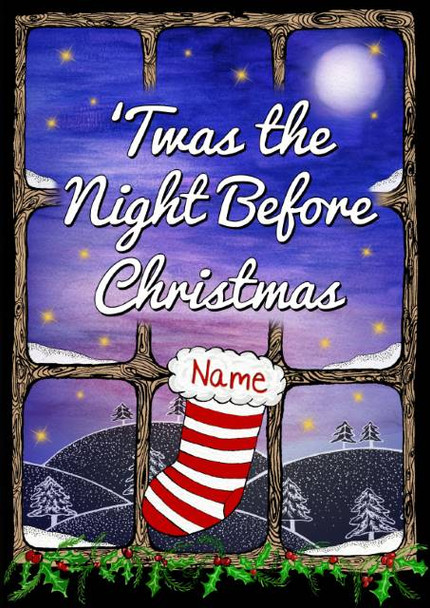 Twas the Night Before Christmas Personalized Book for Kids