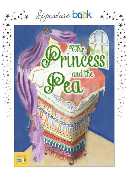 Princess and the Pea Personalized Fairy Tale Book