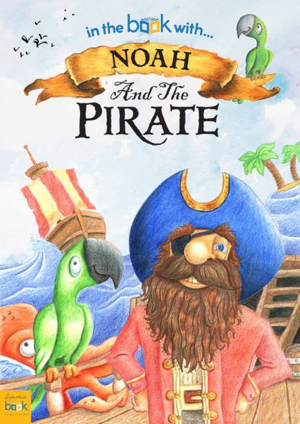 Personalized Pirate Story Book for Kids