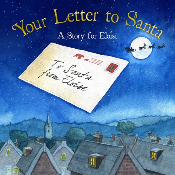 Your Letter to Santa Personalized Book