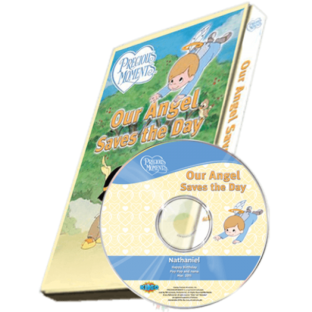 Precious Moments: Our Angel Saves the Day Personalized DVD