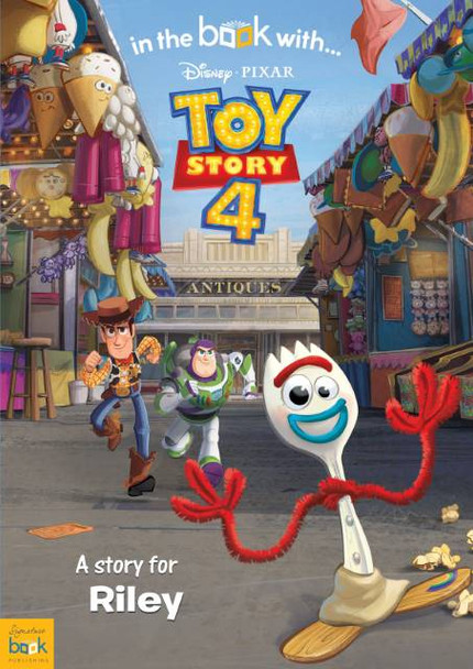 Toy Story 4 Personalized Book