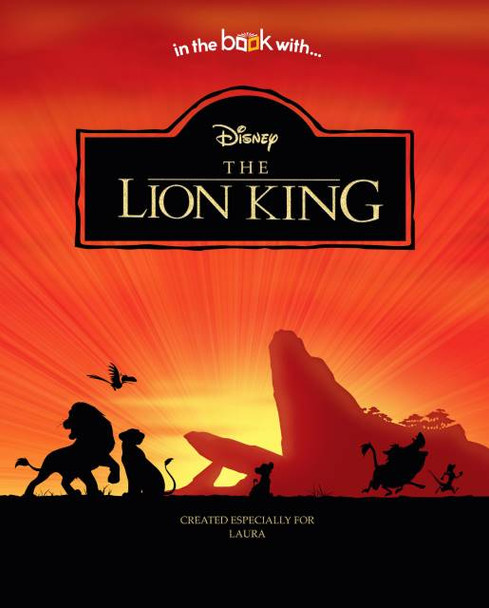 Personalized Disney Lion King Book