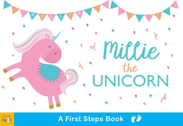 Personalized Unicorn Board Book for Kids