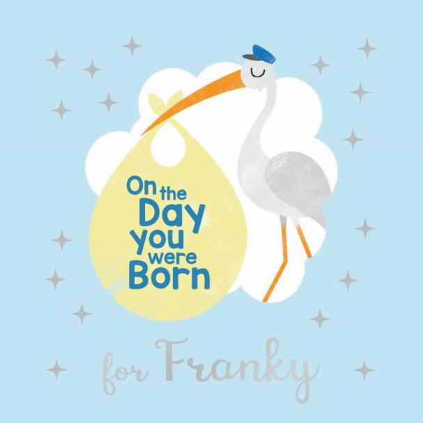 Personalized On the Day You Were Born Book for Boys