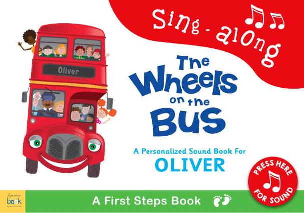 Wheels on the Bus Personalized Children's Book