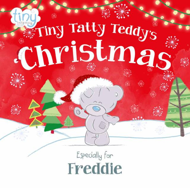 Personalized Tiny Tatty Teddy's Christmas Book
