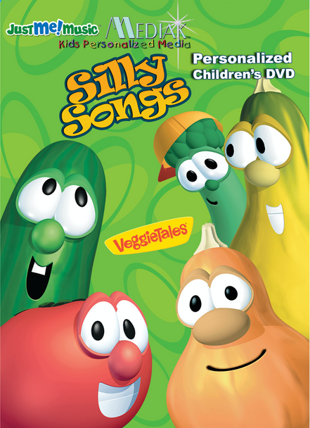 Personalized Veggie Tales Silly Songs DVD