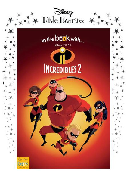 Disney Little Favorites Incredibles 2 Personalized Book