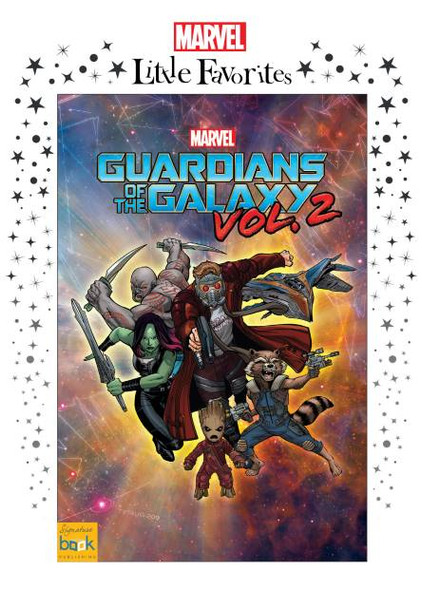 Marvel Little Favorites Guardians of the Galaxy 2 Personalized Book for Kids