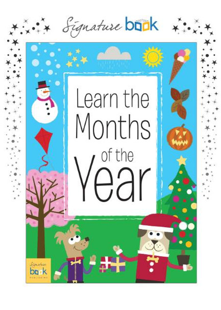 Personalized Months of the Year Personalized Book for Kids