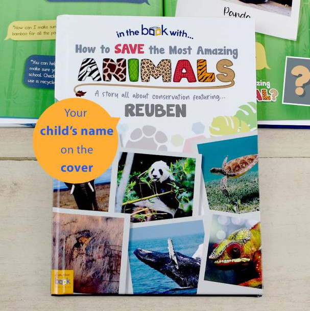 Personalized How to Save The Most Amazing Animal Storybook