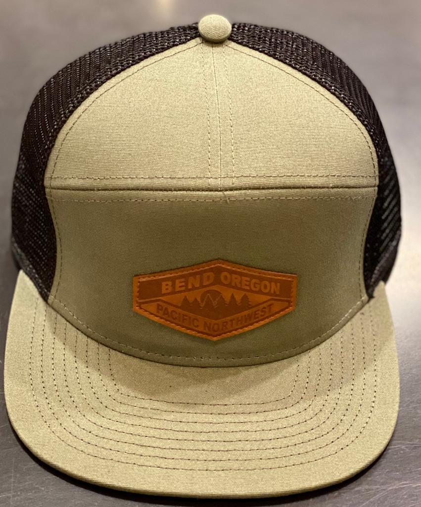 7 Panel Hopback Hat