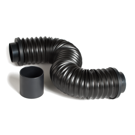 IcyBreeze 4 foot extension hose, gives you enough length to get the ice cold air where you need it.