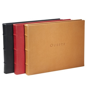 Classic Leather Guest Book