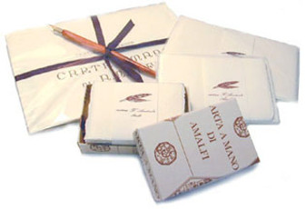"Amalfi 8 1/4"" x  11""  Stationery - 100 Sets / Paper & Envelopes"