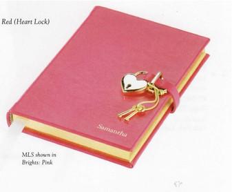 Lovely locking  Diary