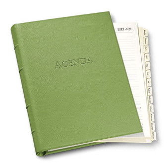 Ring Bound 2021 Forever Agenda - refillable  Shown here in Seagrass Green  tons of colors....call, text or email to ask & order