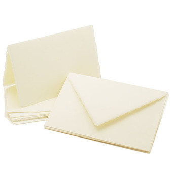 Amalfi Folded Informal Cards 4 1/2 x 6 1/2
