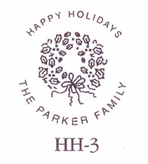 Design #HH-3 This classic wreath design is terrific for many occasions