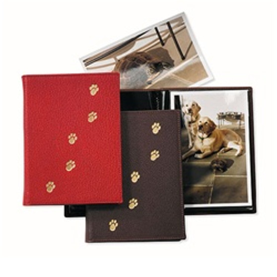 Pets Photo Album - Covers with PawPrints