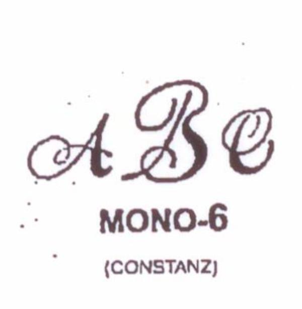 Wax Seal - Mono-6 - Monogram