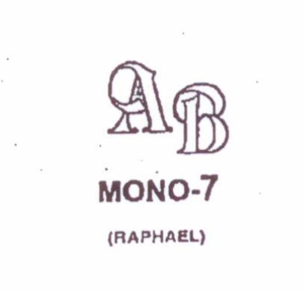 Wax Seal - Mono-7 - Monogram