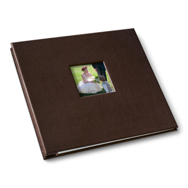 Brown Post Bound Album
