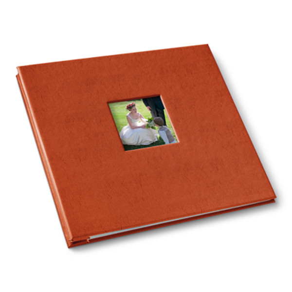 Orange Post Bound Album