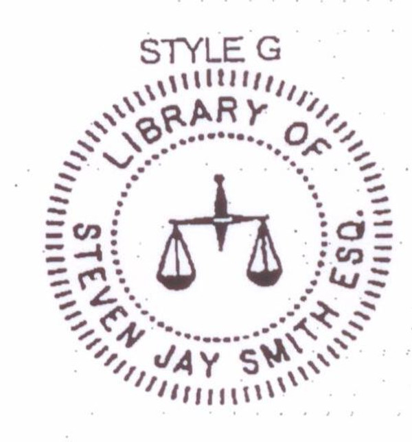 Style #G - Legal - Scales of Justice