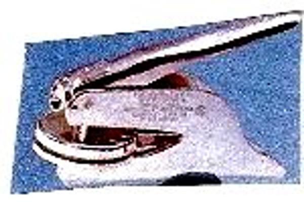 ELITE embosser with round insert