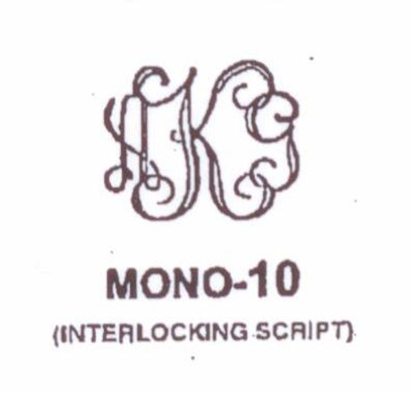 Center initial option: style Mono10