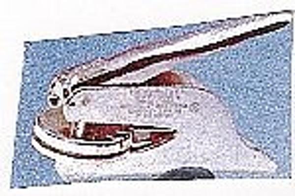 Embosser Insert - Monogram Round