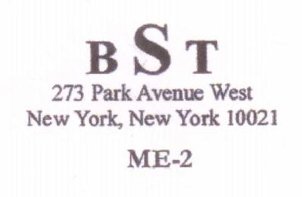 Monogram with Address