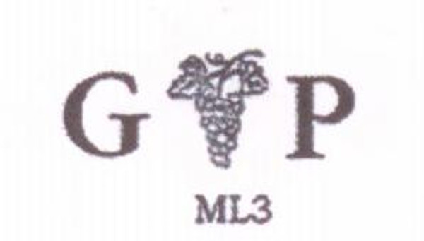 Monogram with Grapes