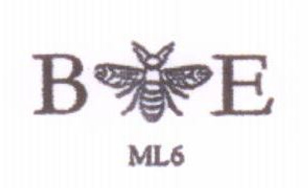 Monogram with Bumble Bee