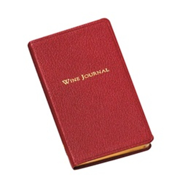 "Pocket Leather Wine Journal 3"" x 5"""
