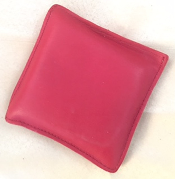 Red Leather Paperweight
