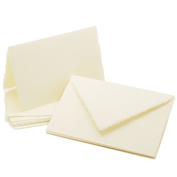 "Amalfi Folded Informal Cards 4 1/4"" x 8"""