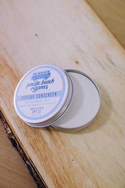 Riptide Sunscreen White - SPF 32 - Plastic Free