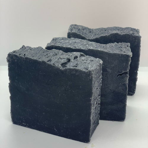 Charcoal Soap - Star Anise & Peppermint