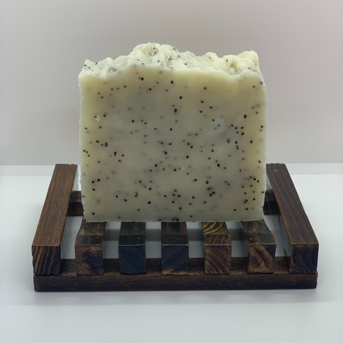 Exfoliating Soap - Lemon, Peppermint & Poppy Seed
